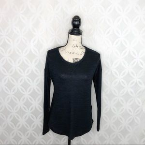 Abercrombie & Fitch Soft and Cozy Black Sweater